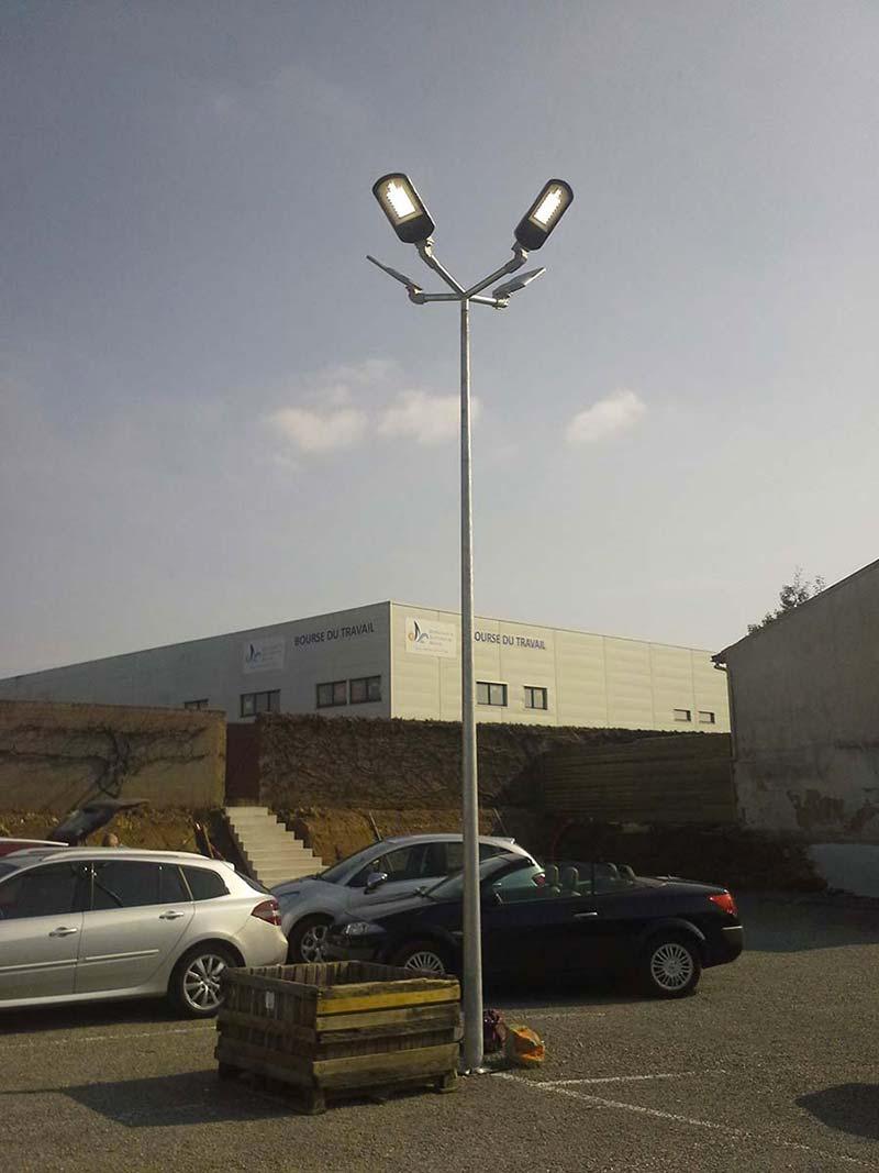 lampadaire usine